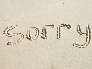 sorry-sms